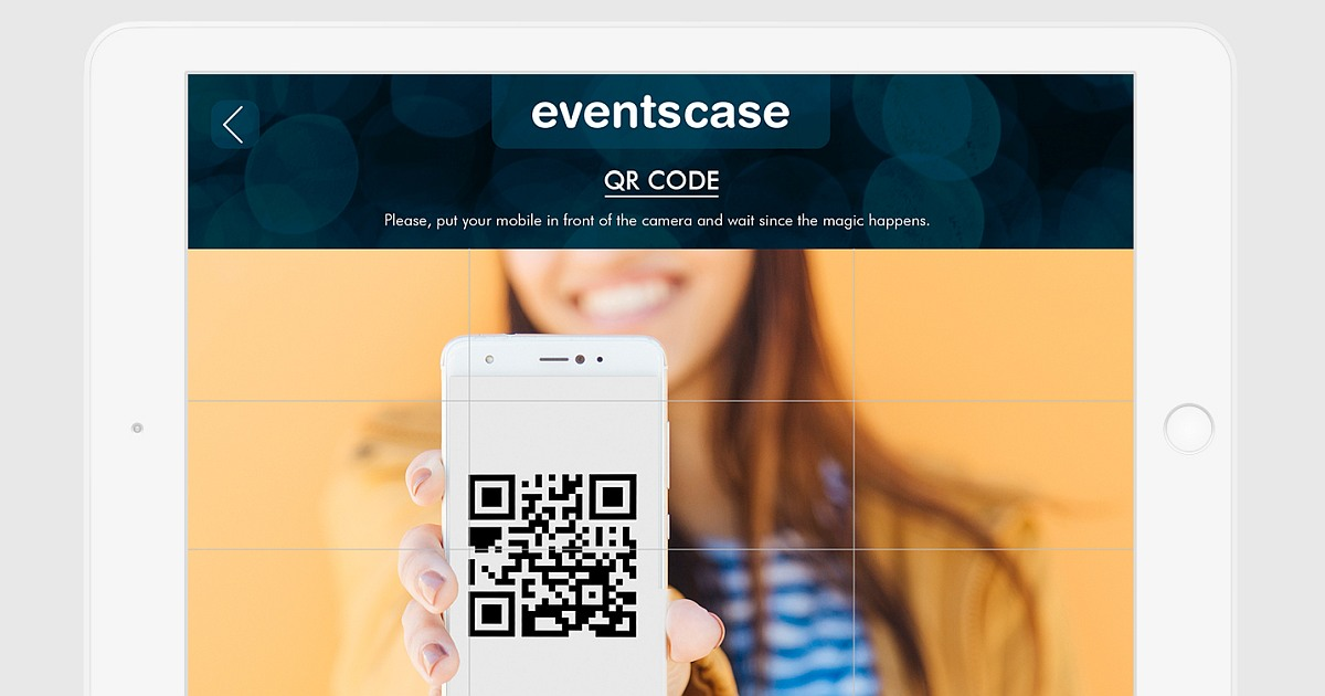 qr code tablet - How Technology Can Limit the Threat of Coronavirus at Events