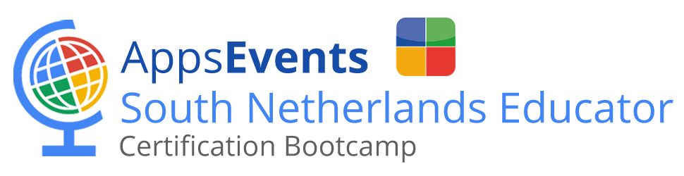 AppsEvents South Netherlands Bootcamps Featuring Google for Education